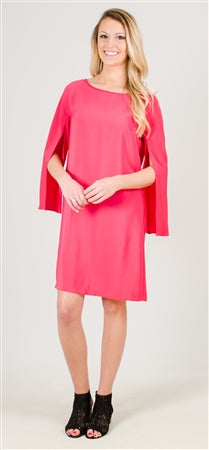 Donna Ricco Scoop Neck Dress