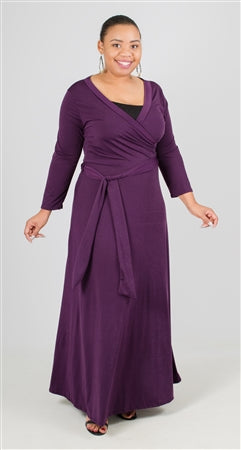 Ella Samani Wrap Dresses Plus Size