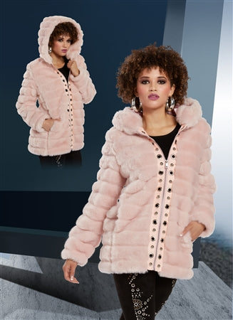 Love The Queen Faux Fur Jacket