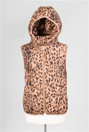 Luii Hooded Puffer Vest