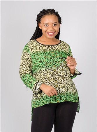 Madison Paige Animal Print Plus Size
