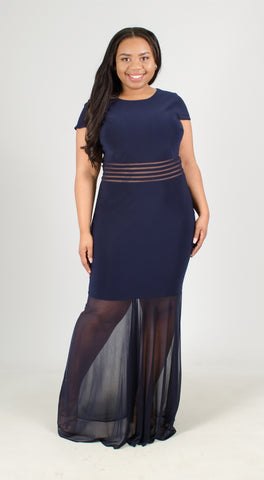 NW Woman Illusion Plus Dress