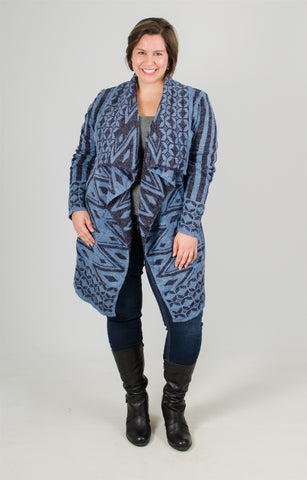 Simple Couture Flyaway Sweater Cardigan
