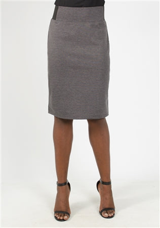 Soho Apparel Ponte Skirt