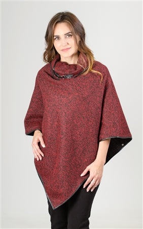 Step in Style Cowl Neck Poncho