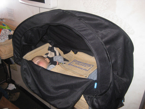 air plane bassinet cover cozigo