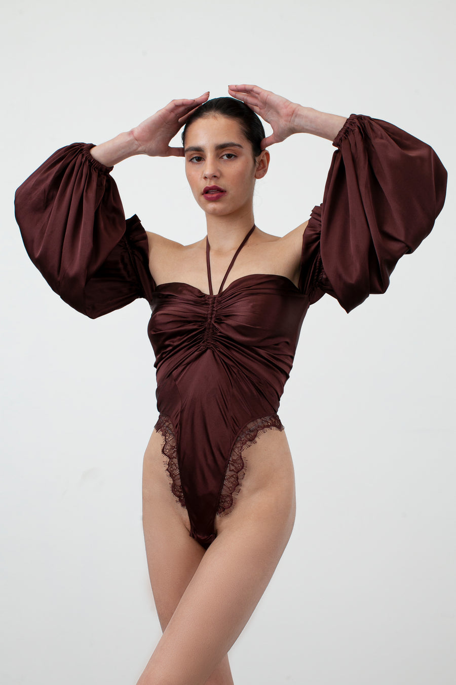BRONTË BODYSUIT {CHOCOLATE}