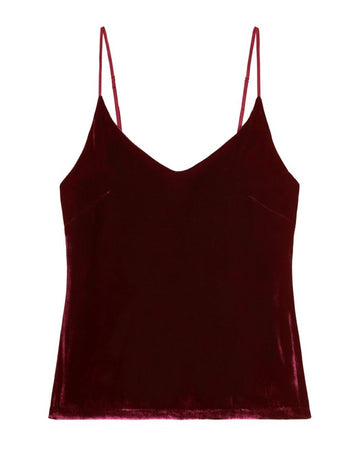 PM to AM CAMISOLE TOP {WINE}