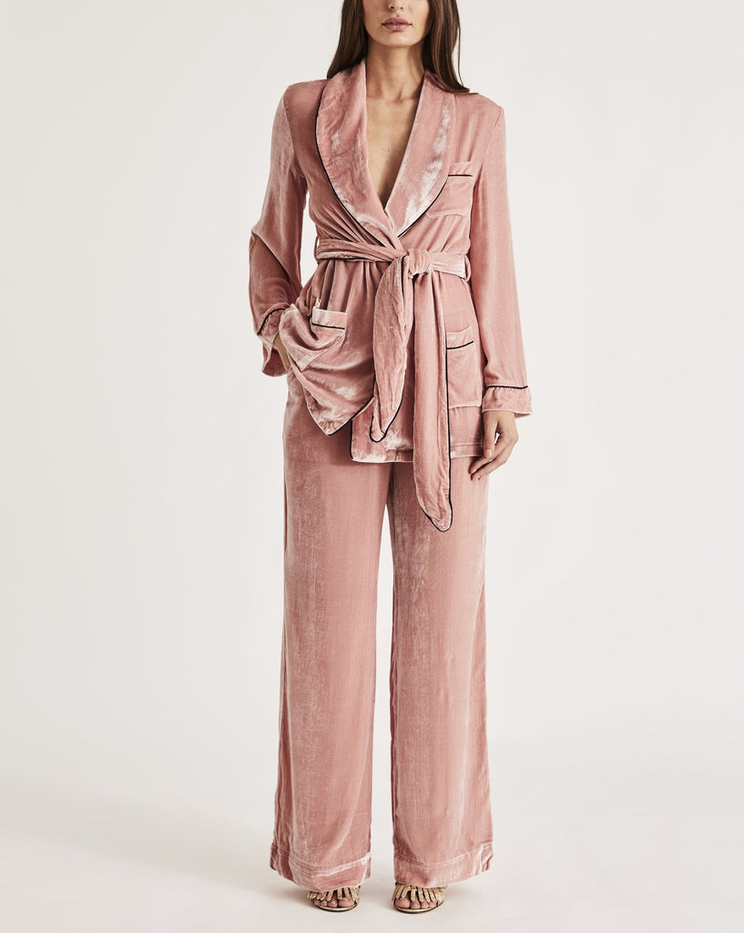 THE BON VIVANT ROBE {BLUSH}