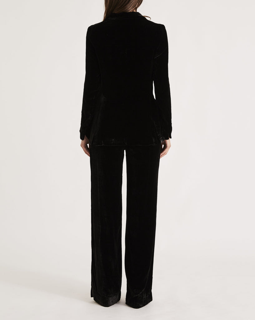 JANE BOND BLAZER in BLACK MAGIC