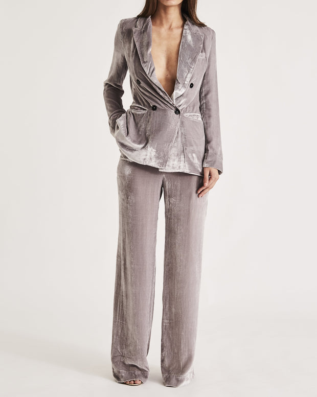 JANE BOND BLAZER in PLATINUM