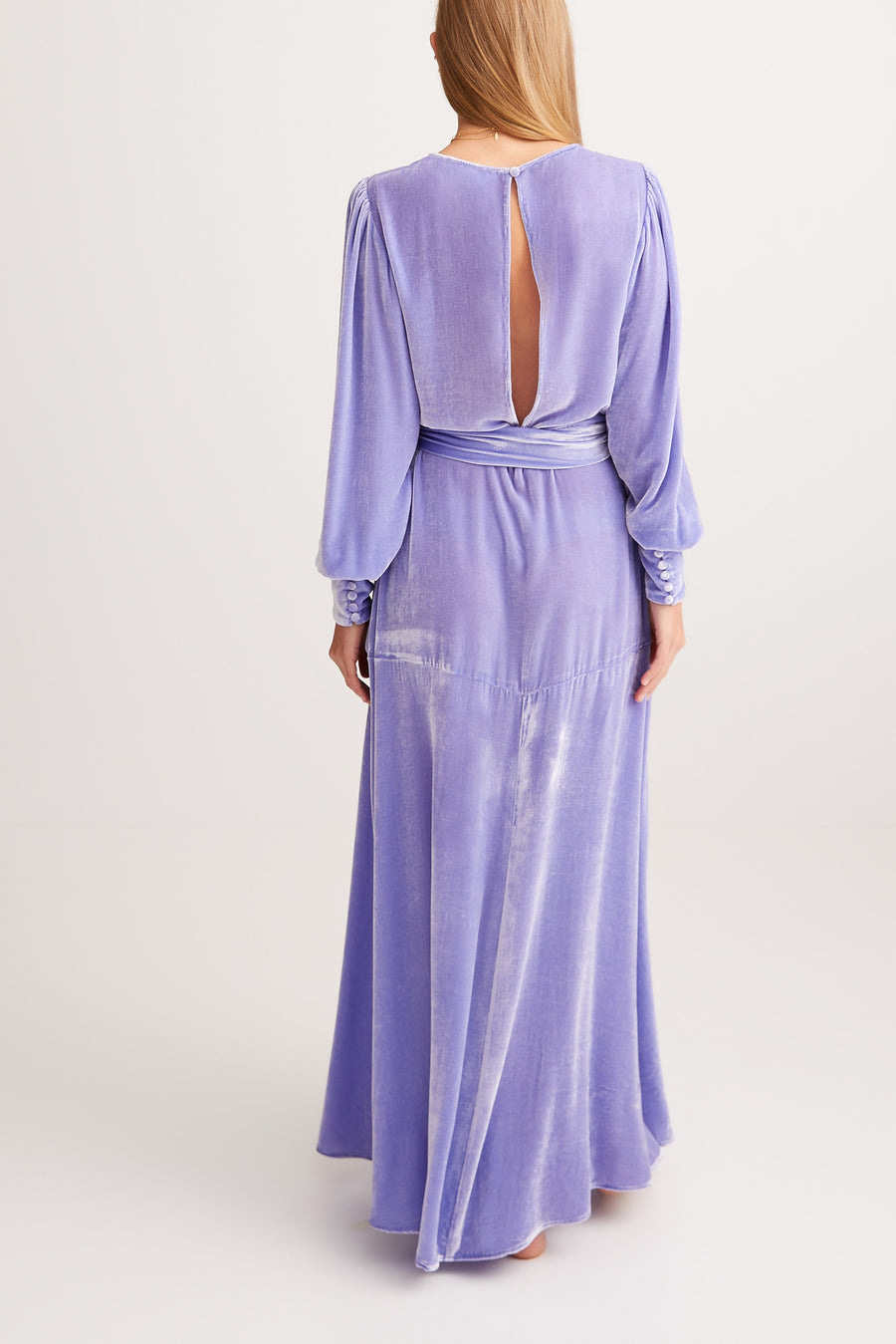 THE SYLVIA DRESS {JACARANDA}