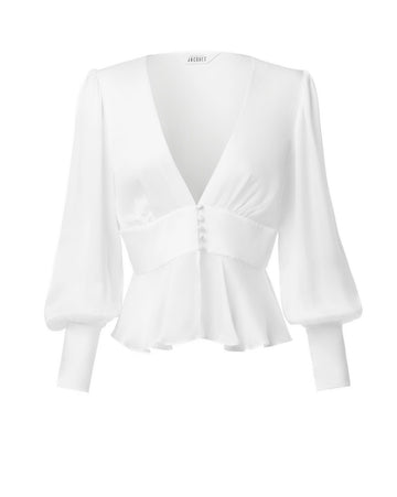 THE SYLVIA BLOUSE