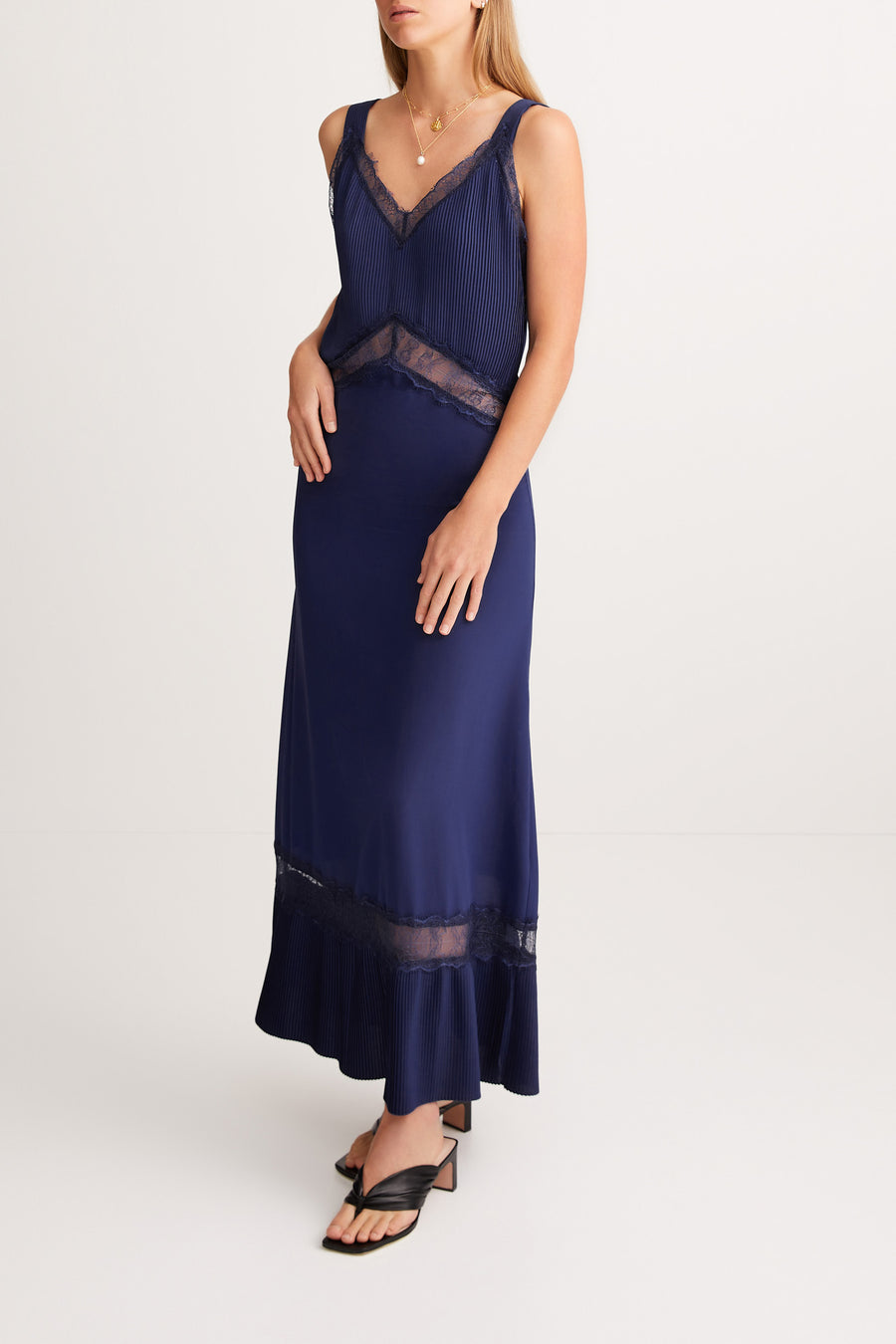 The Osiris Dress {NAVY}