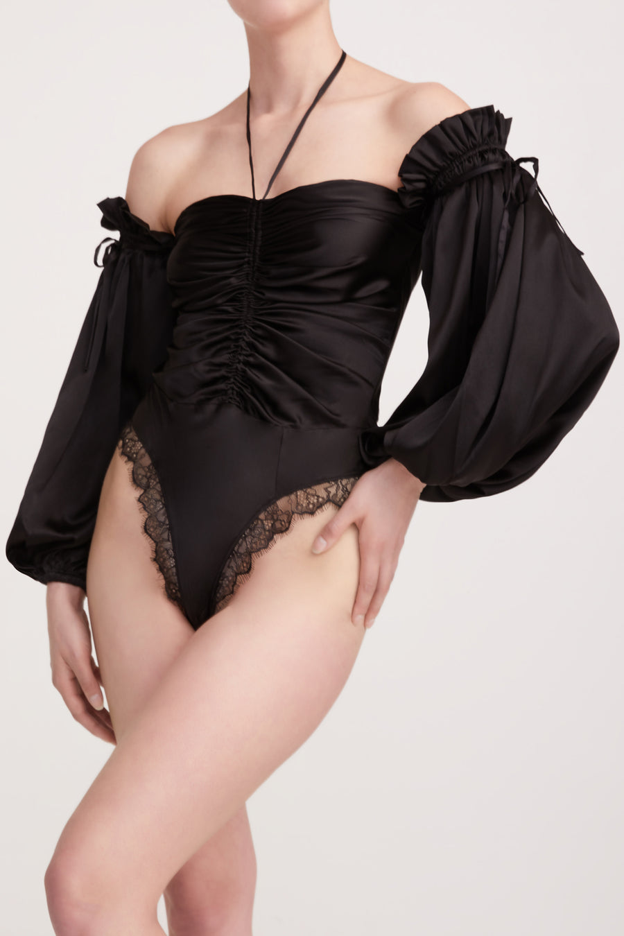 BRONTË BODYSUIT {BLACK}