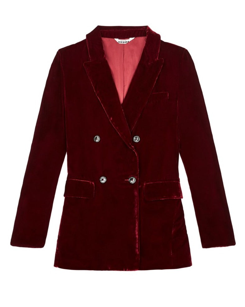 JANE BOND BLAZER {WINE}