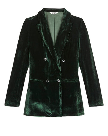 JANE BOND BLAZER {EMERALD}