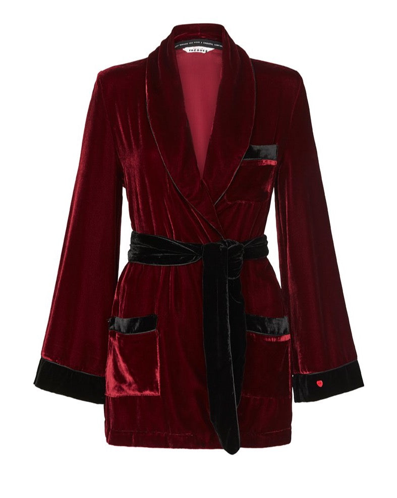 THE BON VIVANT ROBE {WINE}