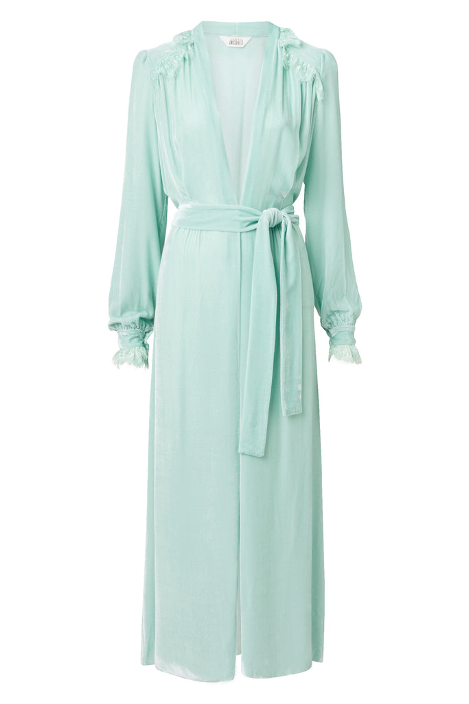 NET-A-PORTER Exclusive: FREYA GOWN {MINT}