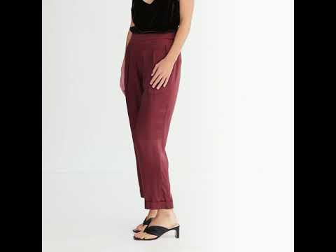 THE LENNY PANT {CHOCOLATE}