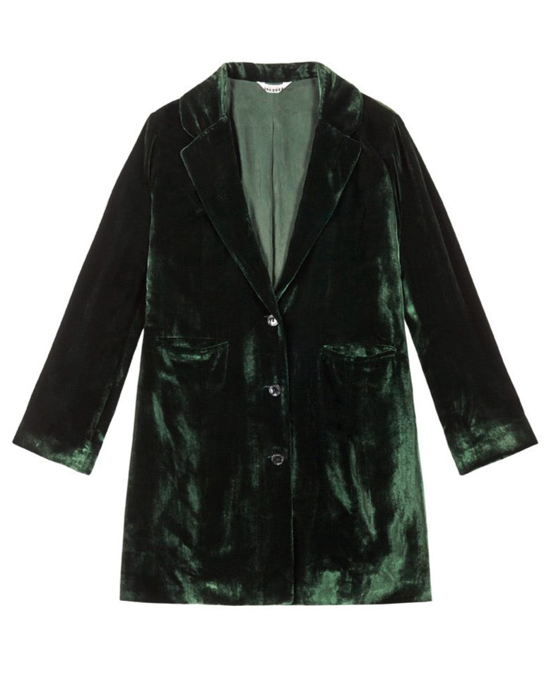 SHIRLEY COAT {EMERALD}