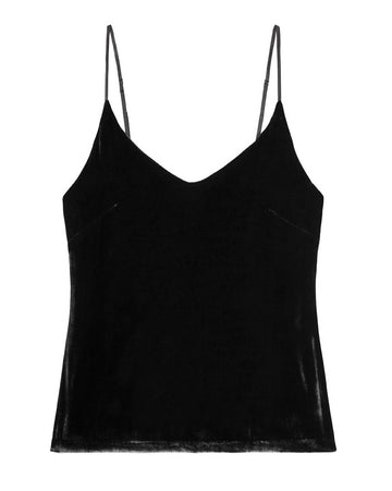 PM to AM CAMISOLE TOP {BLACK}