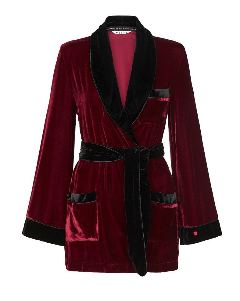 THE BON VIVANT ode to HUGH HEFNER ROBE {Limited Edition}