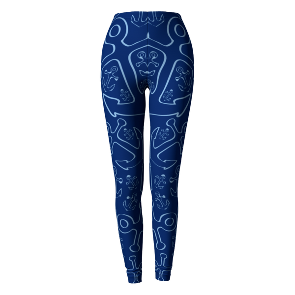 Anchor Dream Leggings - Navy