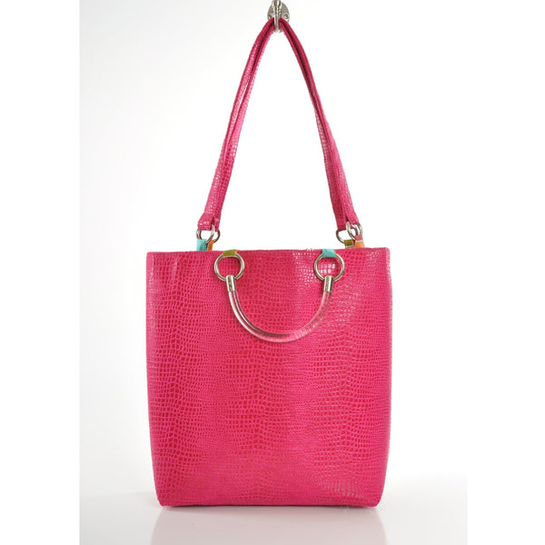 Boa Hot Pink Large Tote