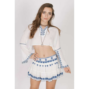 SANTORINI MINI SKIRT