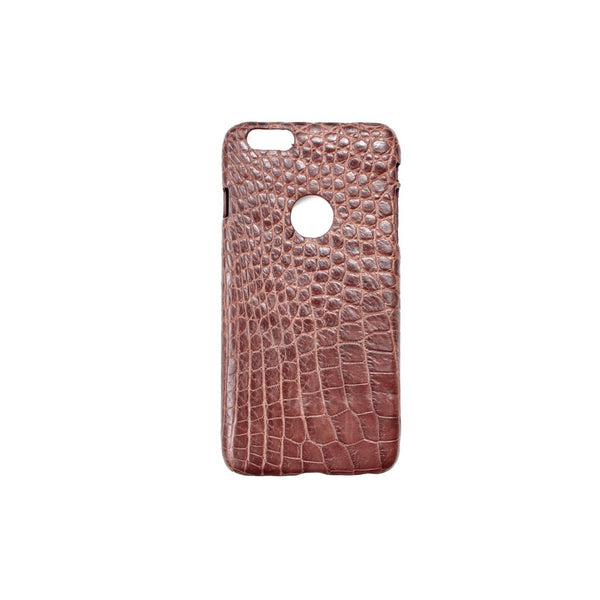 Genuine Exotic Crocodile iPhone 6/6s Plus case #0027