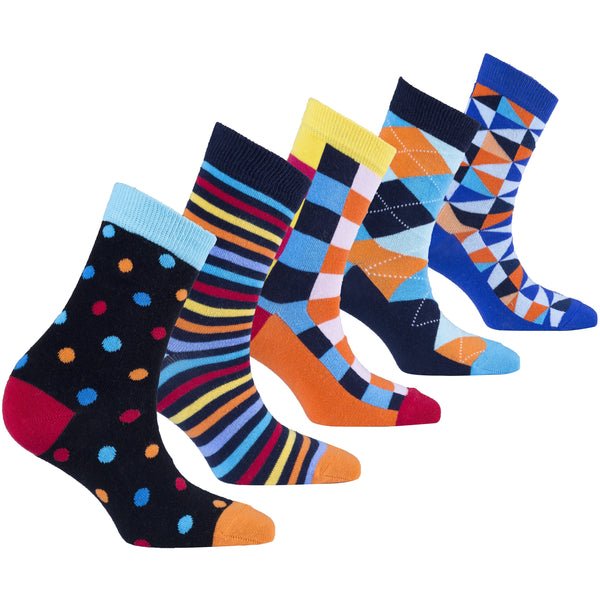Women's Fashionable Mix Set Socks Set