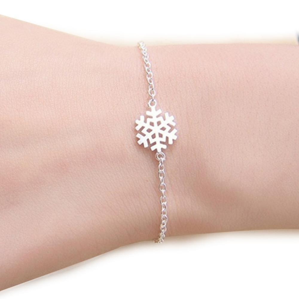 Winter Snowflake Bracelet