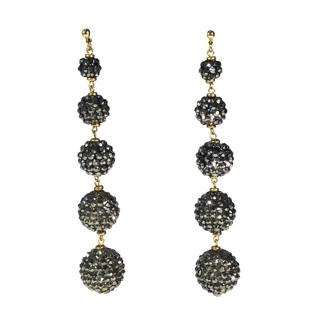 Cascading Spheres Earrings