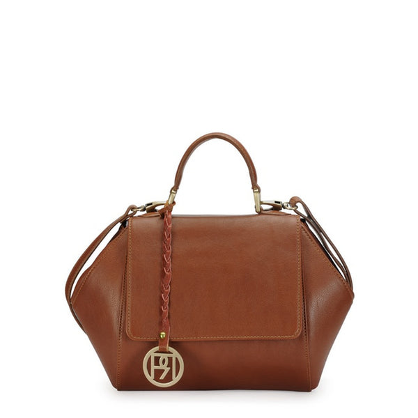 Phive Rivers Women's TAN Satchel Bag-PR1064
