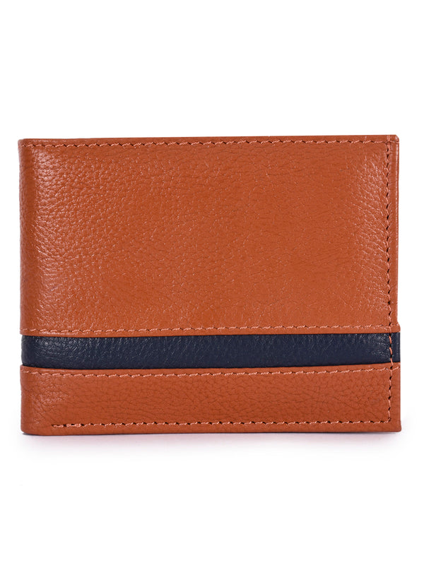 Phive Rivers Men's Leather Tan Wallets
