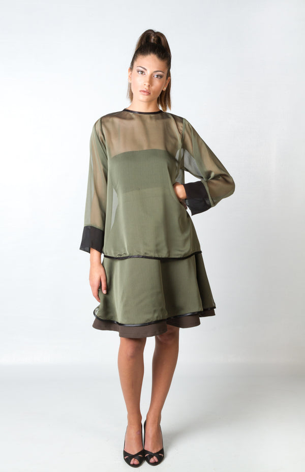 ABEDUL GREEN BLOUSE