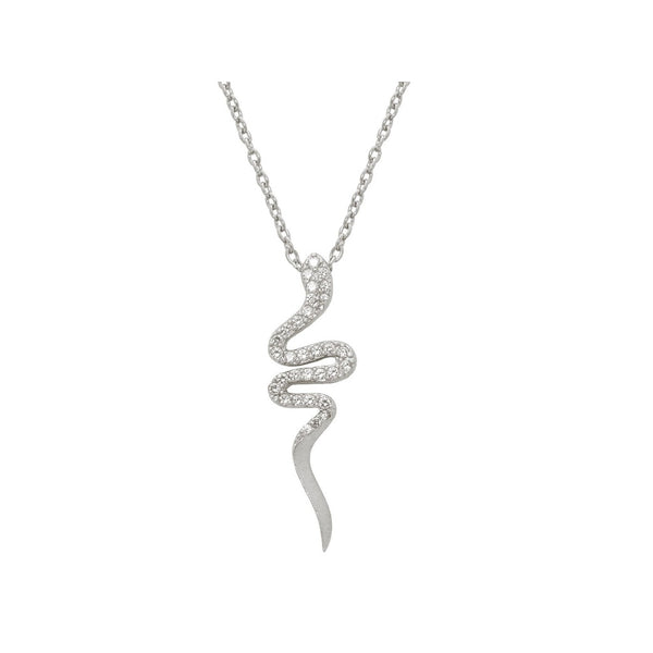 Cobra Snake Pendant Necklace