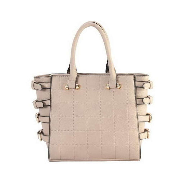 Taupe Belted Bag