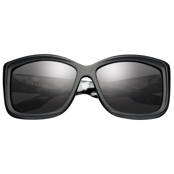 Beverly: Matte Black - Marble Stone / Grey Lens