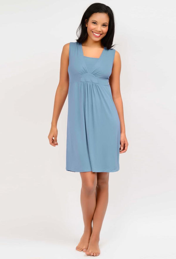 Layered V-Neck Chemise (4370)