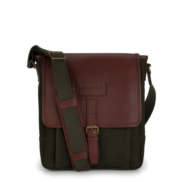 Phive Rivers Men's Green Messenger Bag-PR1107