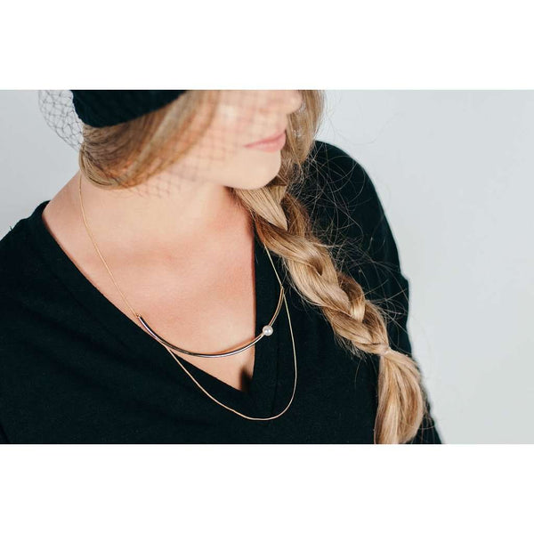 Revello Double-Layer Necklace