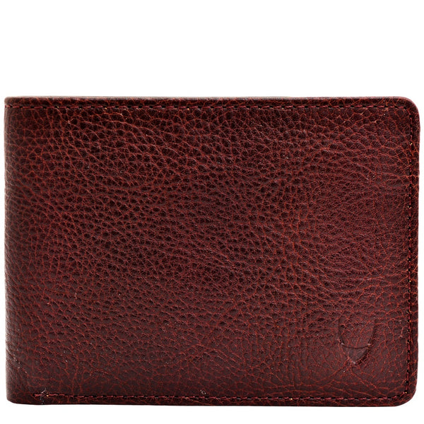 Giles Classic Compact Thin Vegetable Tanned Leather Wallet