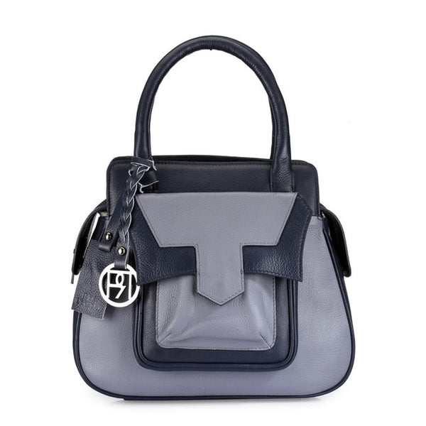 Phive Rivers Women's GREY Satchel Bag-PR1045