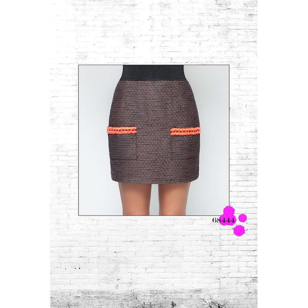WISH SKIRT ORANGE
