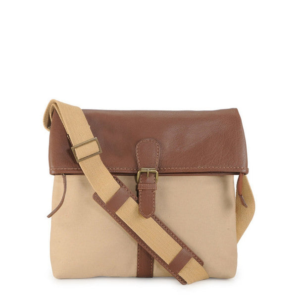 Phive Rivers Men's Khaki Messenger Bag-PR1115