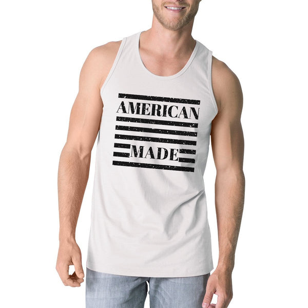 American Made Funny 4th Of July Tank Top For Men Gifts For Him