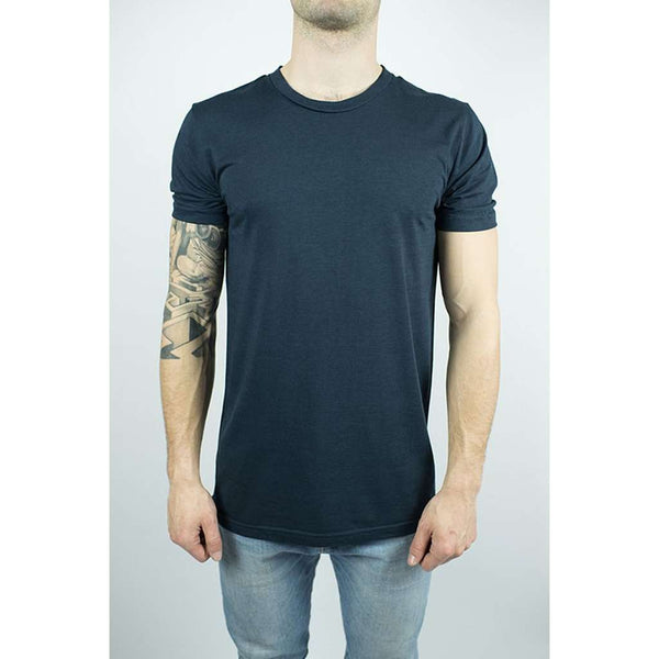 Unisex Organic Bamboo T-shirt in Midnight Blue