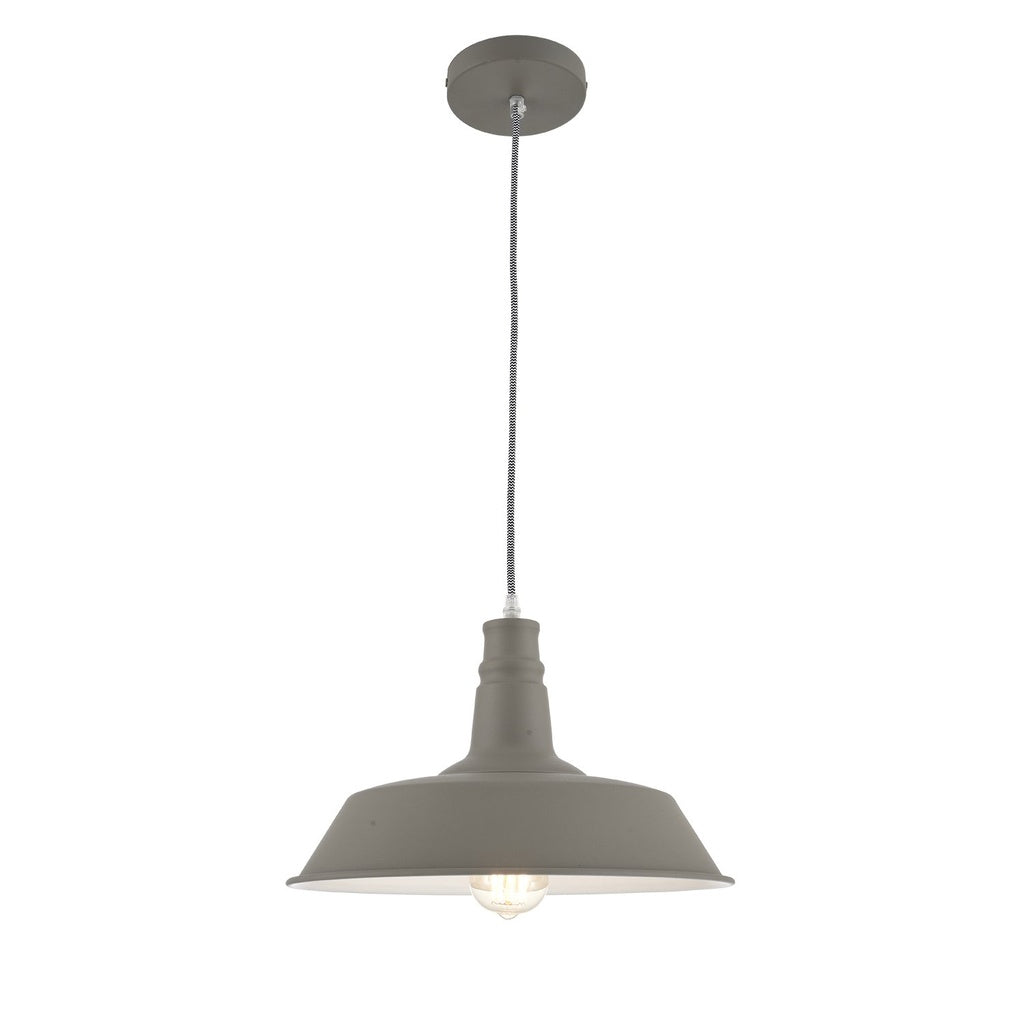 Ohr Lighting® Modern Plateau Pendant, Dark Gray/White (OH133)